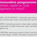 NESTLÉ OFFERS FINANCIAL GRANTS UP TO USD 540,000 FOR INNOVATIVE PROJECTS, PROGRAMMES OR BUSINESSES
