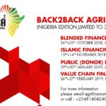 BACK2BACK AGRI-FINANCE TRAINING SERIES