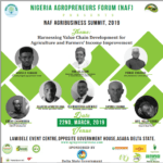 Attend NAF Agribusiness Summit, 2019